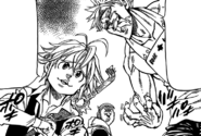 Meliodas and Ban wants to enter the fight festival