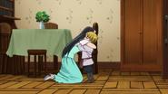 Guila and Zeal hugging