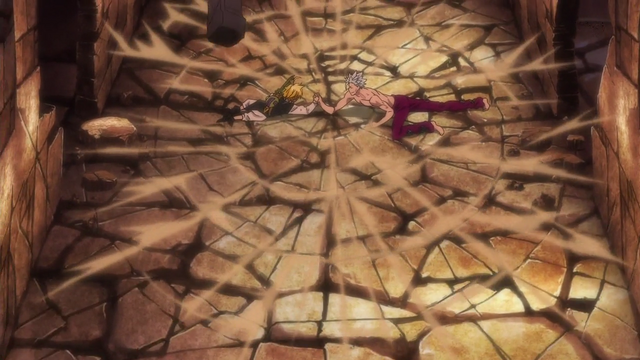 File:Meliodas and Ban playing arm wrestling.png