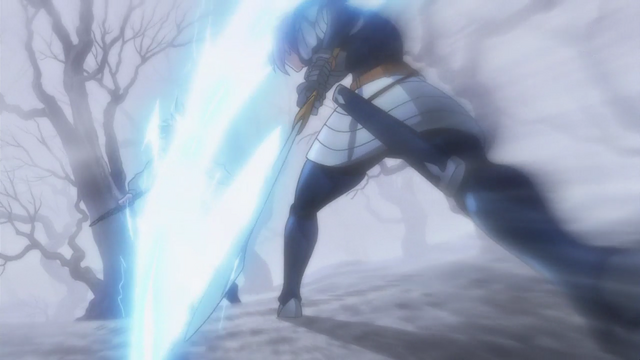 File:Gilthunder striking down Meliodas from behind.png
