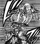 Meliodas defeating Ruin