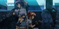 Teana and Subaru training