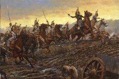 Empresses Dragoons at Montmirail