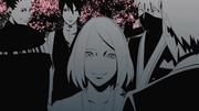 Sakura congratulates Naruto and Hinata