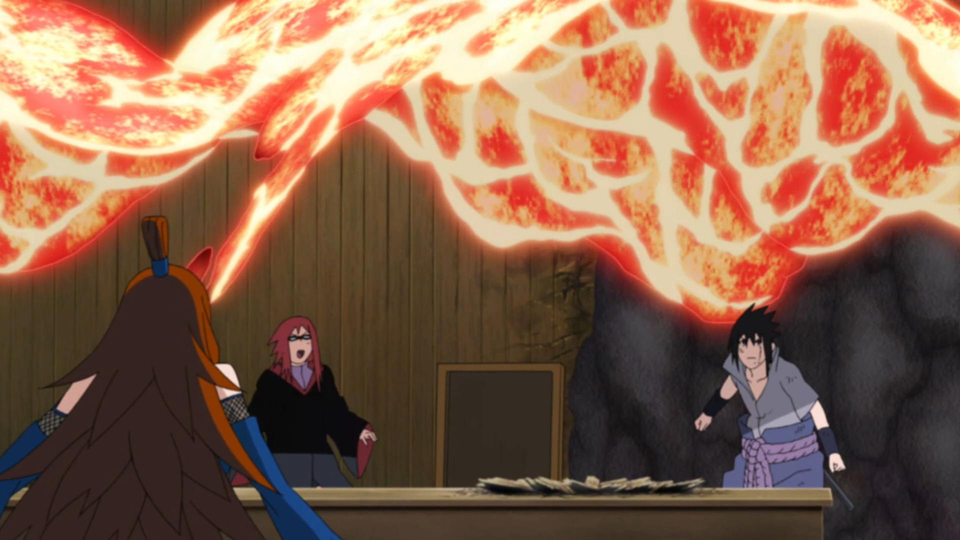 Image yoton technique de naruto wiki - Technique de sasuke ...