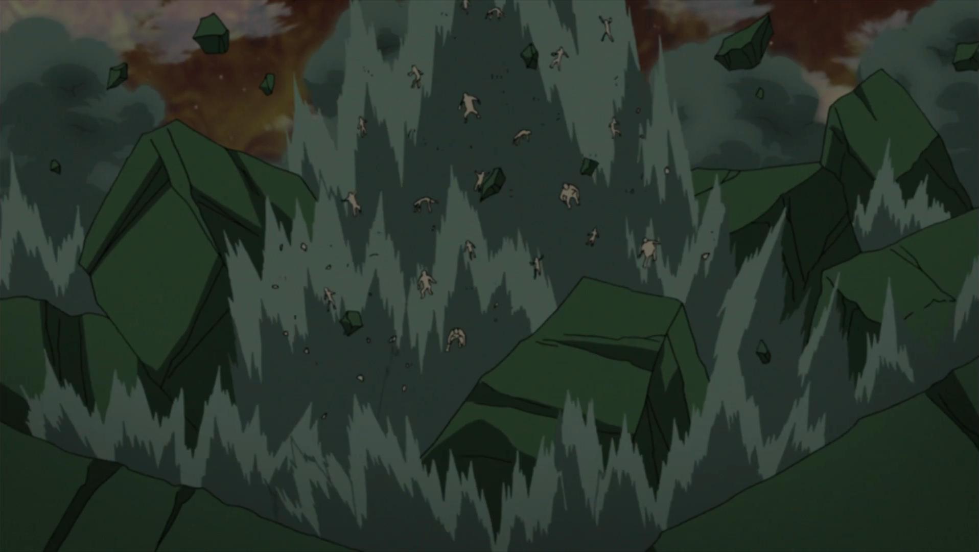 Image - Sakura beats Juubi clones.png   Narutopedia ...