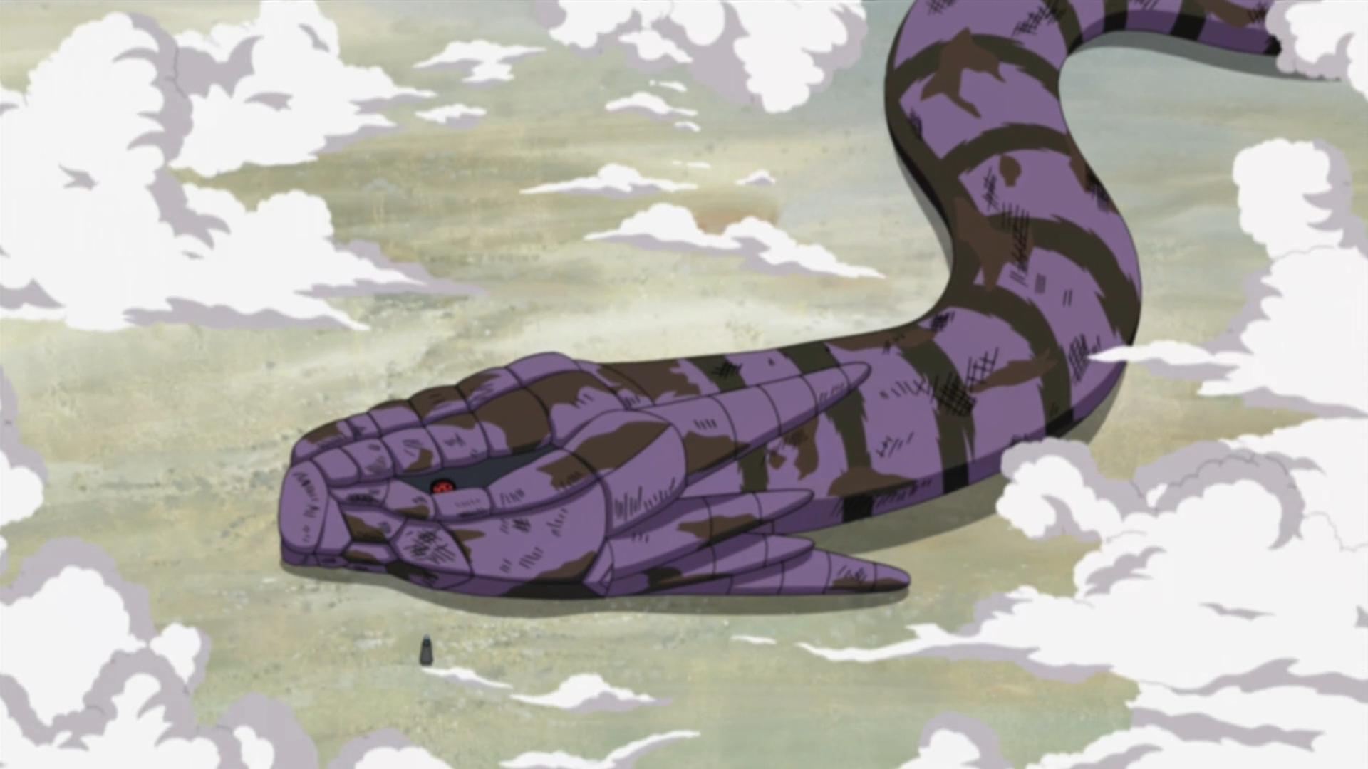 Image - Dying Manda.PNG | Narutopedia | Fandom powered by ...