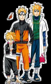 Naruto Exhibition characters