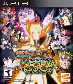 NSUNSR Box Art PS3