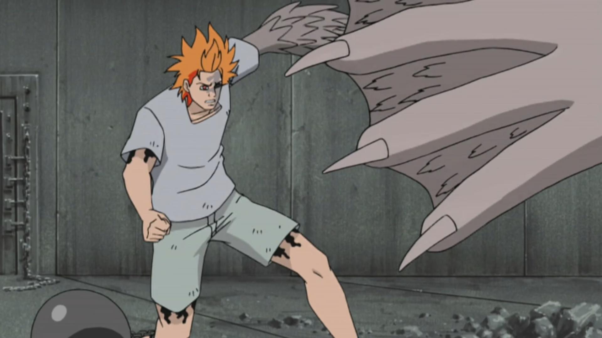 Jugo preparing to attack Sasuke.png