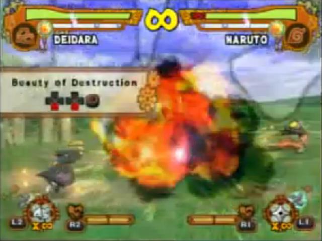 File:Naruto ultimate ninja 5 DEIDARA BEAUTY DESTRUCTION 2.png