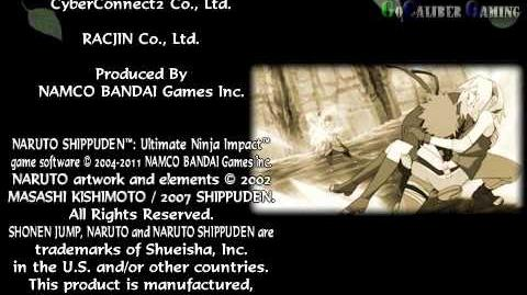 Naruto Shippuden Ultimate Ninja Impact - part 130 Walkthrough - Naruto Ending
