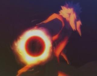 Fire Release Flame Rasengan