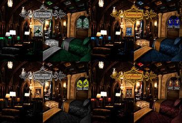 Colegio hogwarts de magia y hechiceria anime y peliculas for Sala pranzo harry potter