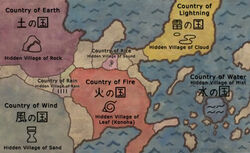 Naruto Map