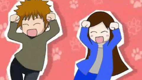 Yasuko and Reiji Caramelldansen