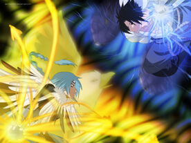 Commission kinu vs sasuke by annria2002-d34v0jh