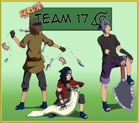 Team 17 Pre-Shippuden By KirAlien