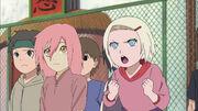Kagura as a child