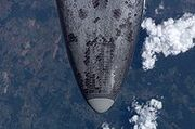 220px-Discovery's heat shield