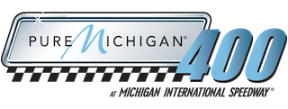 File:Pure Michigan 400 logo.png