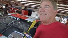 Terry doing an interview on garage gam livs