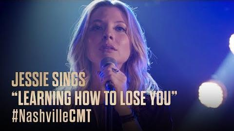 """NASHVILLE on CMT Jessie Caine Sings """"Learning How To Lose You"""""""