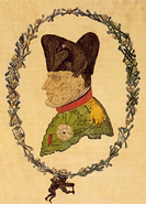 Caricature Napoleon