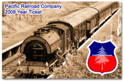 PRC 2008 Year Ticket
