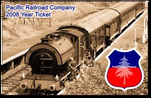 PRC 2008 Year Ticket