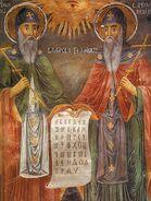 Saints Cyril and Methodius, Zahari Zograf