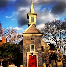 Abington Church and cemetery
