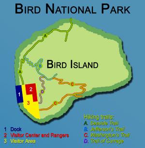 Bird NP Map 2