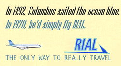 RIAL 1970 ad