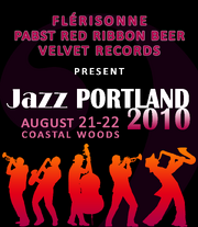 Jazz Portland 2010 poster 2