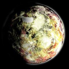 Yellowstone viewed from Orbit
