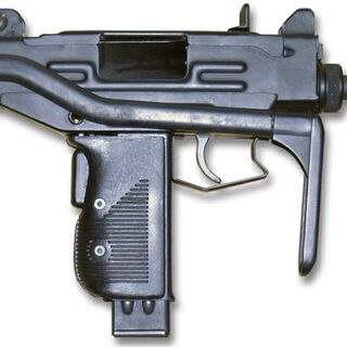 A machine pistol sidearm used by Porschestani Recon Force soldiers.