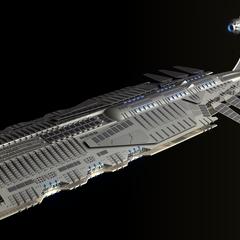Nova-class Battle Cruiser. A common site in the Fleet