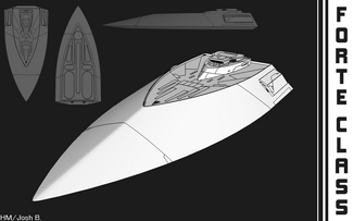 Sketchup Practice Colony Ship by Hazardmachine