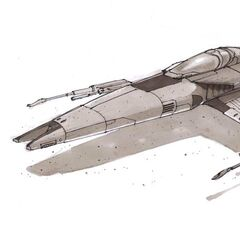 The Sunfighter II next-generation starfighter.