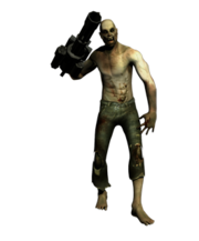 Minigun zombie
