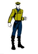 Komarran police - planet