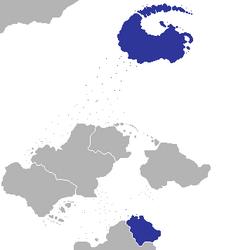 Location of Chevrokia