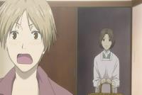 Natsume shocked at touko noticing him