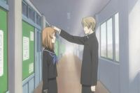 Natsume and taki at school