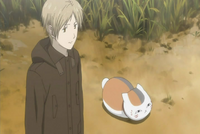Natsume & nyanko at field