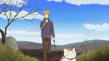 Natsume Yuujinchou - OAD natsume takes nyanko for a walk