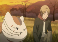 Natsume claiming the circle is out of his league