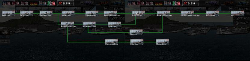 RM ship tree