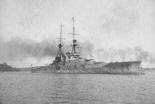 Japanese Battlecruiser Haruna